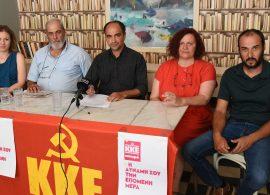 Οι υποψήφιοι βουλευτές Δράμας του ΚΚΕ