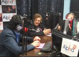 Η πρόεδρος του συλλόγου Καρκινοπαθών Δράμας Ευγενία Σαραφίδου στον ALPHA NEWS 95,5