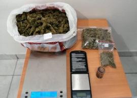 Δράμα: Συνελήφθη άνδρας για διακίνηση ναρκωτικών - 684,8 γραμμάρια ακατέργαστης κάνναβης