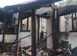 Κάηκε σπίτι  στους Ταξιάρχες Δράμας– Η πυρκαγιά ξεκίνησε από τον ξυλολέβητα
